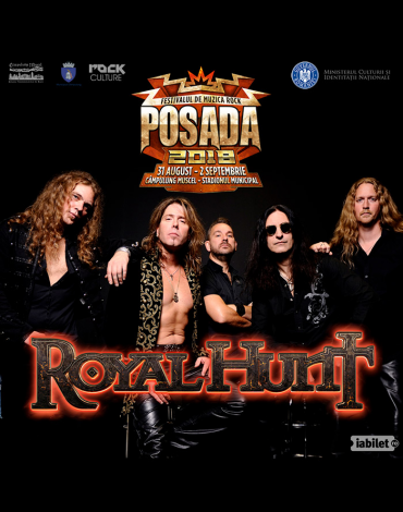 ROYAL HUNT, încă un nume important pe afișul Posada Rock 2018