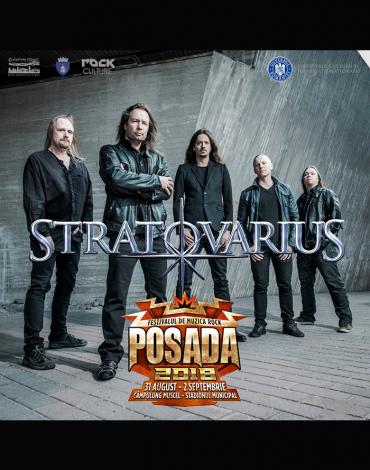 STRATOVARIUS este cel de-al doilea headliner confirmat la Posada Rock 2018!