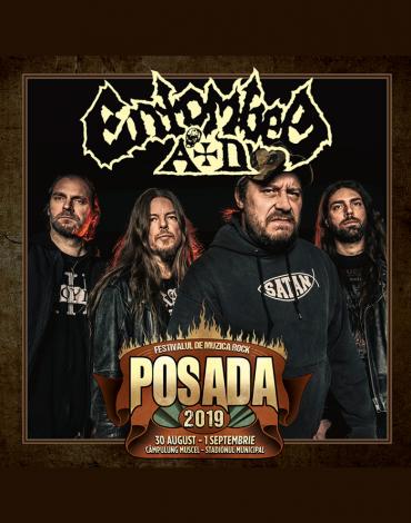 ENTOMBED A.D. la Posada Rock 2019!