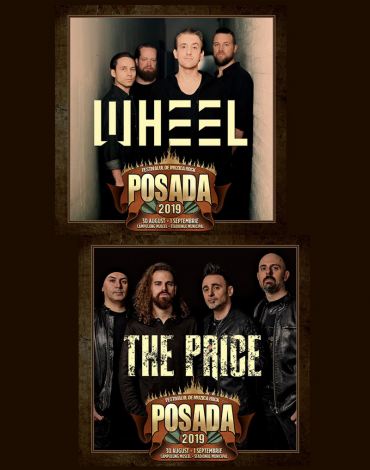 WHEEL și THE PRICE la Posada Rock 2019!