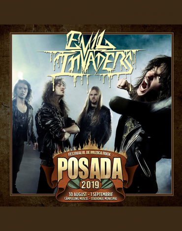 EVIL INVADERS la Posada Rock 2019!