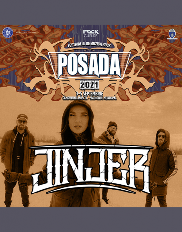 JINJER completează lista headlinerilor la Posada Rock 2021!