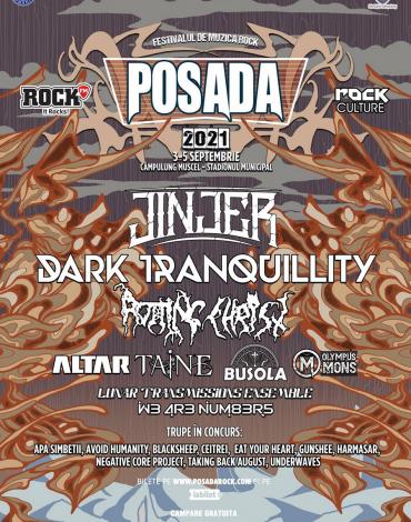 POSADA ROCK 2021 - Afișul complet și programul pe zile