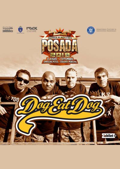 DOG EAT DOG încheie ediția din acest an a Festivalului Posada Rock 2018!