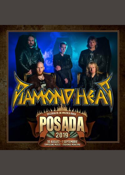DIAMOND HEAD la Posada Rock 2019!