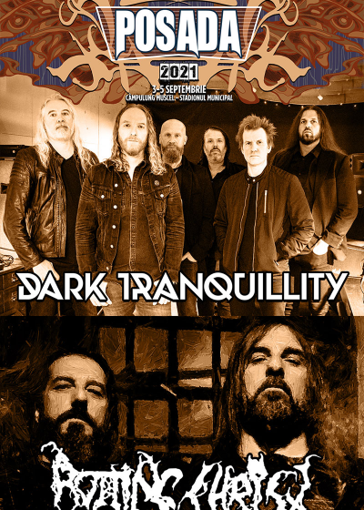 DARK TRANQUILLITY și ROTTING CHRIST – primii headlineri la Posada Rock 2021!