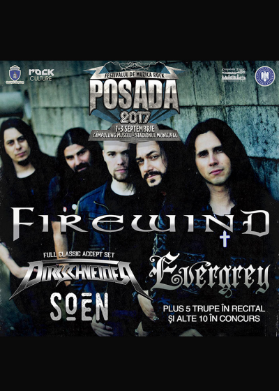 FIREWIND la Posada Rock 2017